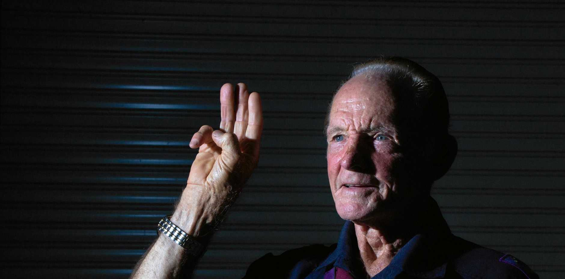 MR INCREDIBLE: Ernest Chesterton was name 2019 Lockyer Valley Citizen of the Year. Mr Chesterton is heavily involved in the community, and yesterday celebrated 39 years of involvement with the scouting movement.