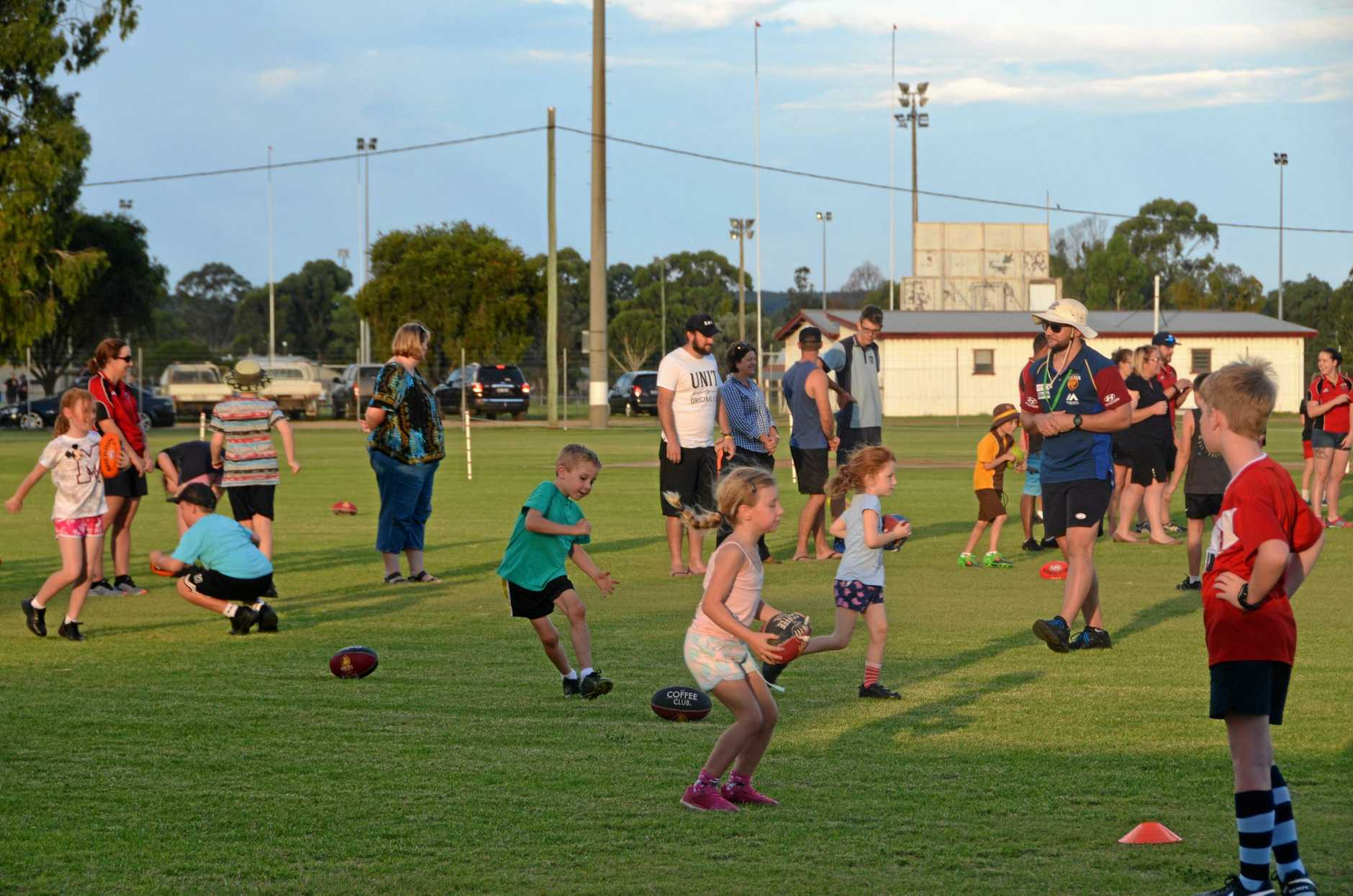 Auskick programs will be on offer in Kingaroy and Nanango in 2019.