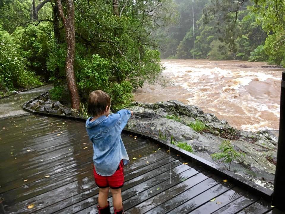 Broken River flooding.