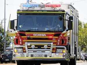 Crews on the scene of vegetation fire at East End