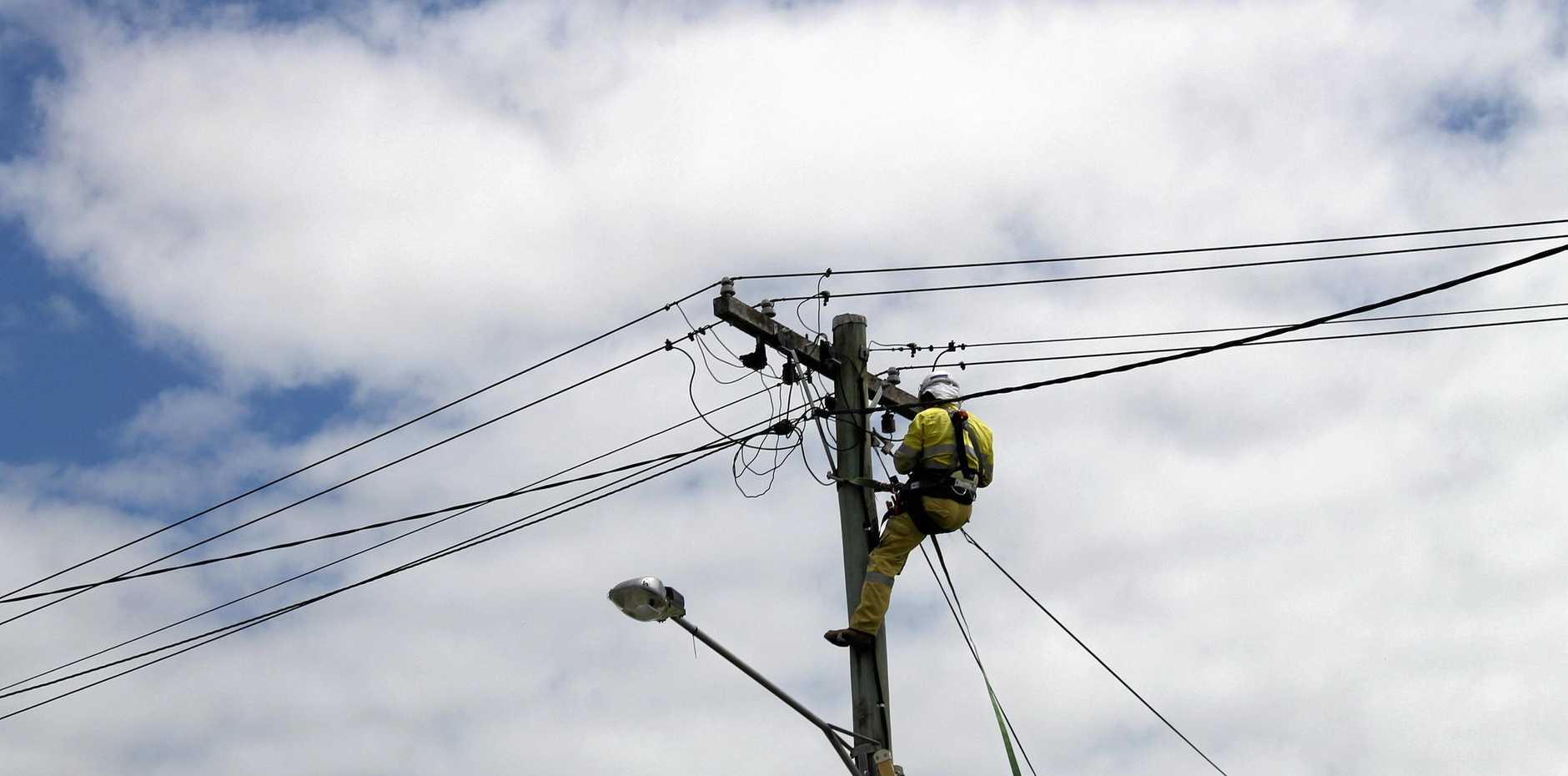 Power outages in Roma were caused by an