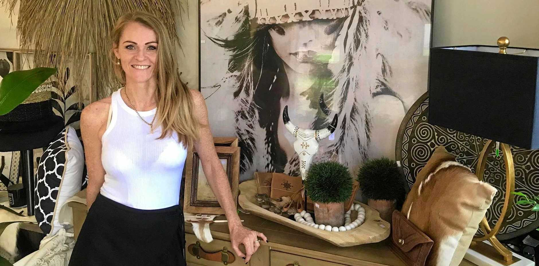 PEACEFUL ESCAPE: Jane Gillespie, owner of Bel Abode Lifestyle and Homewares in Habana.