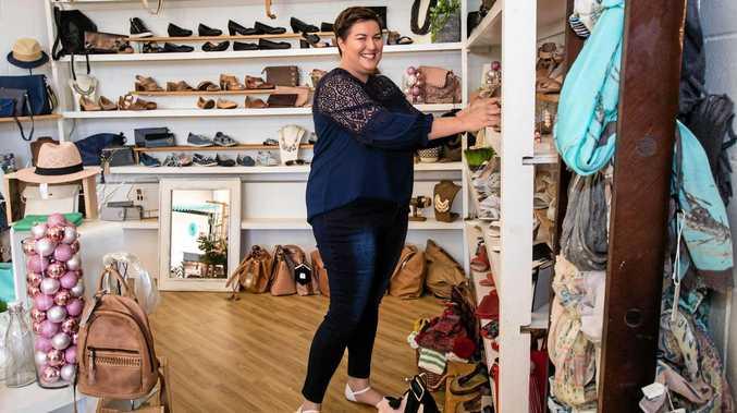 Melissa Westcott, owner of Big On Shoes.
