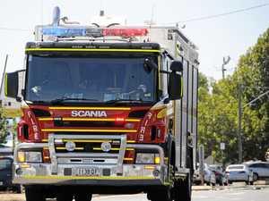 Fireys rush to six-metre high bamboo fire at Beerwah