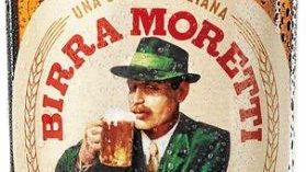 A Birra Moretti lager from Italy
