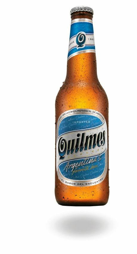 A Quilmes lager from Argentina.