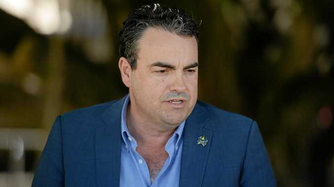 Whitsunday MP Jason Costigan spoke to the media today in response to allegations levelled against him.