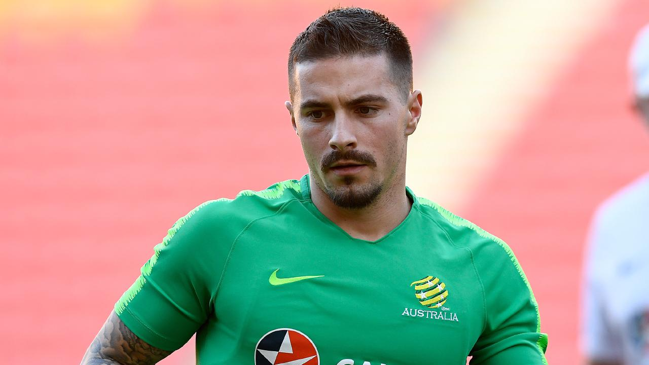 City face an anxious wait on Jamie Maclaren. (AAP Image/Albert Perez)