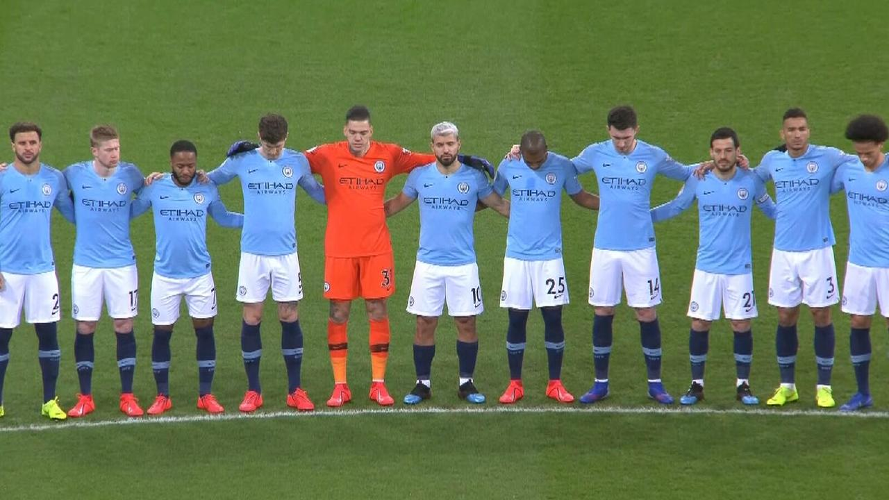 City's supsterstars paid their respects