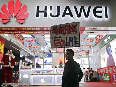 Controversial Chinese firm Huawei is in the firing line.
