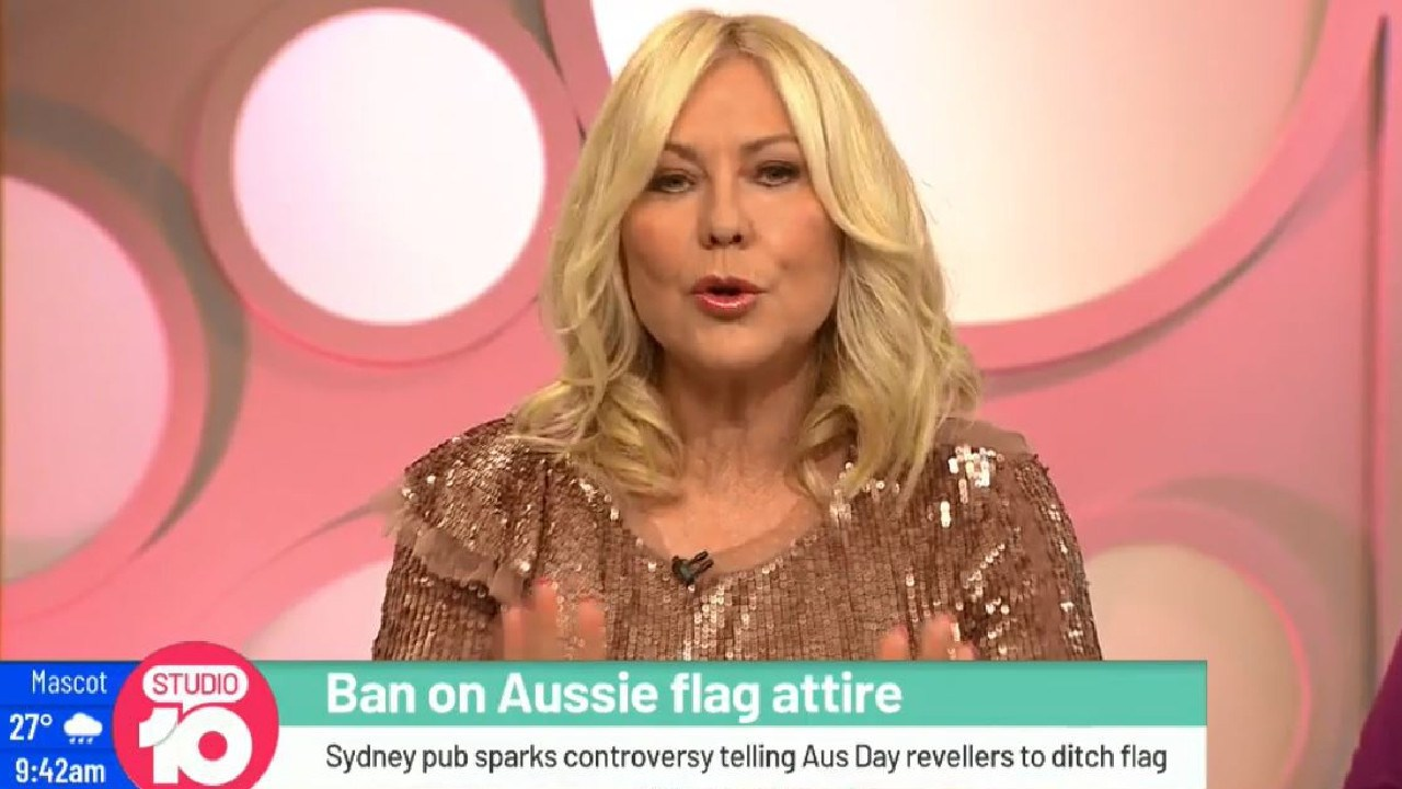 Kerri-Anne Kennerley conflated two issues to deflect from one of them. Picture: Studio 10