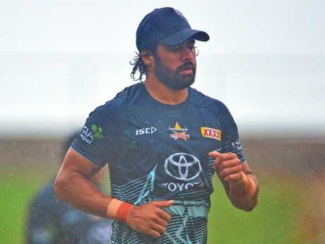 North Queensland Cowboys training from 1300 Smiles Stadium. Picture: Zak Simmonds