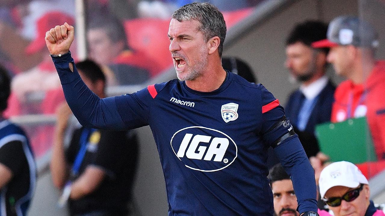 Adelaide United coach Marco Kurz.