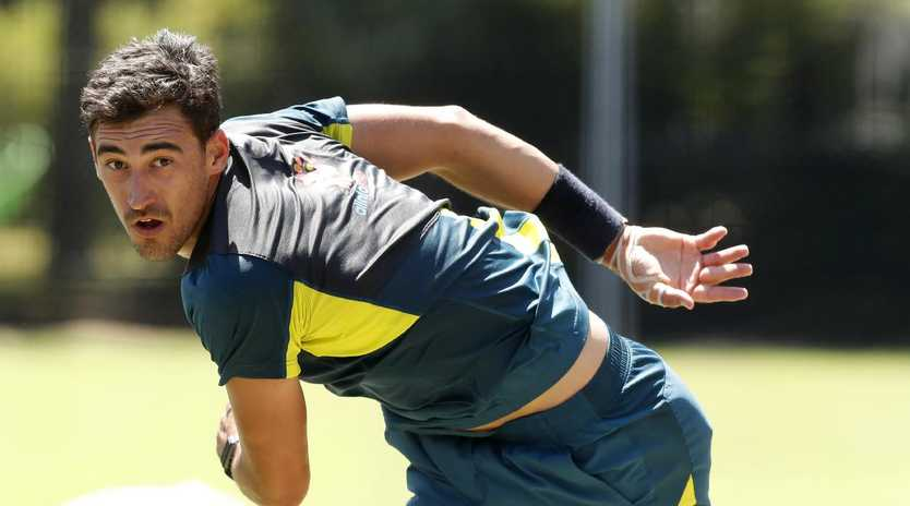 Calls for Pat Cummins to be handed the new ball ahead of Mitchell Starc have gathered weight after former national selector Mark Waugh speculated about a change.