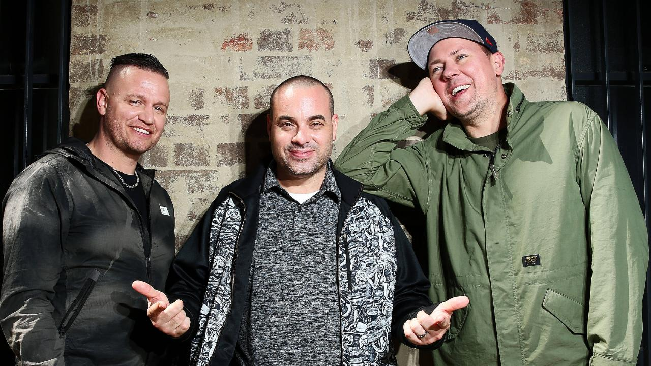 Hilltop Hoods. Picture: Tim Hunter.