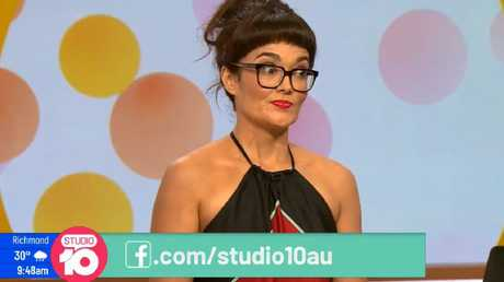 Yumi Stynes was right to challenge Kerri-Anne's views where many presenters would have sat back and said nothing. Picture: Studio 10