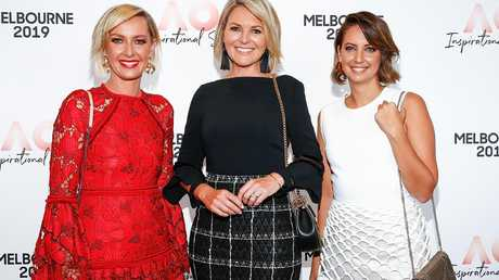 Deborah Knight, Georgie Gardner and Brooke Boney have been part of Nine's push to make the network more female-friendly. Picture: Sam Tabone