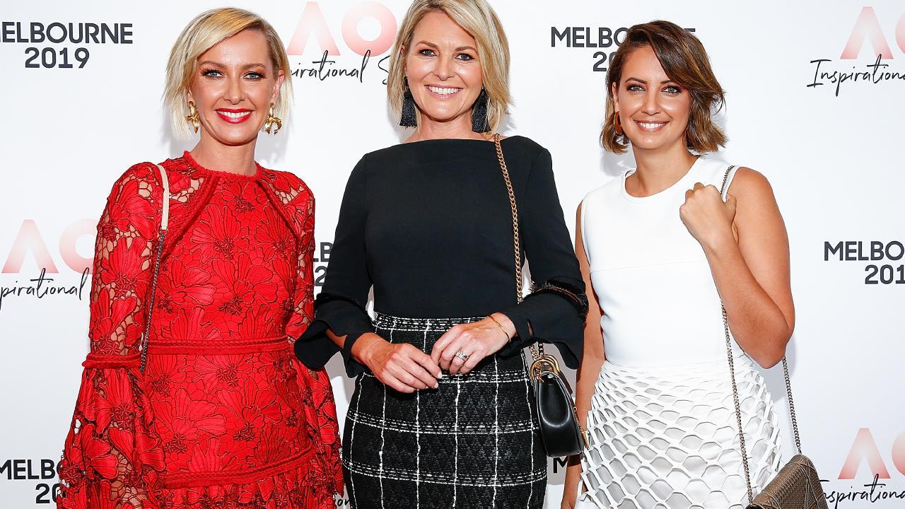 Deborah Knight, Georgie Gardner and Brooke Boney have been part of Nine's push to make the network more female-friendly. Picture: Sam Tabone