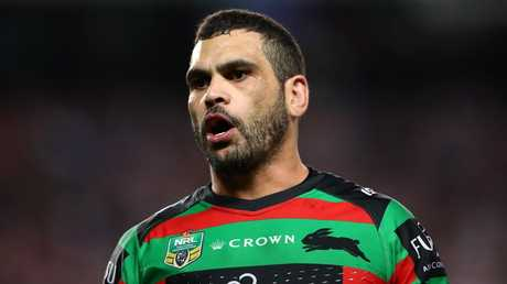 Greg Inglis's preseason knee injury is worrying news. Picture: Cameron Spencer/Getty Images
