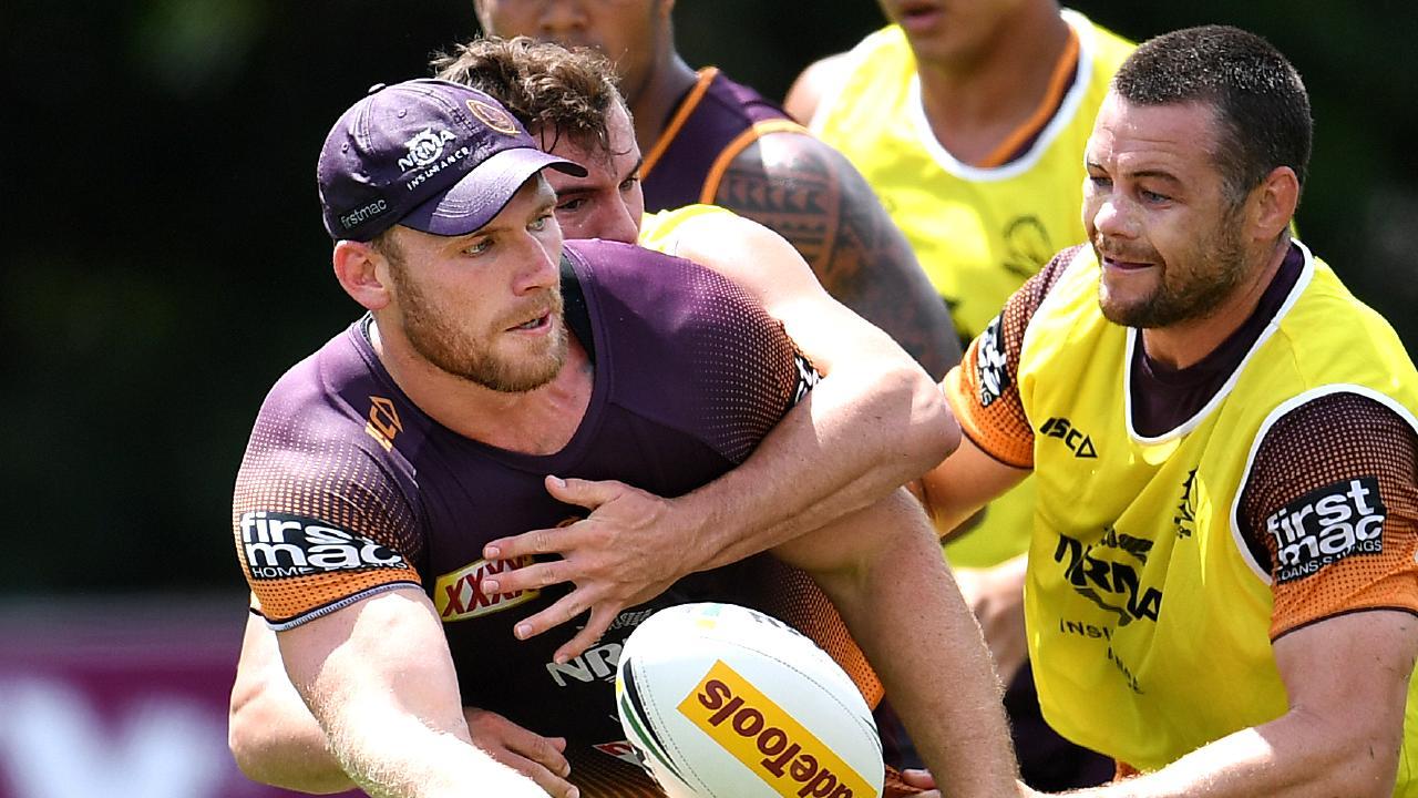 Lodge was one of Brisbane's best last season. AAP Image/Dan Peled.