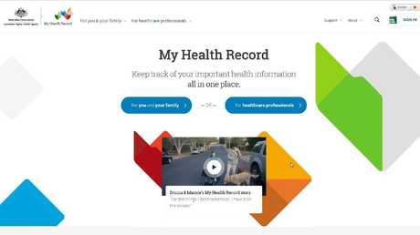 The cut off date to opt out of the automatic registration for My Health Record ends at January 31. Picture: Supplied