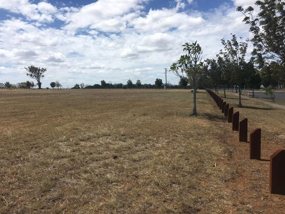 NOT A PARK: Residents of Highfields Ridge Estate in Gowrie Junction are campaigning to get a real park for the community.