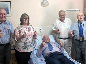 Masonic head rests easy with hospice donation