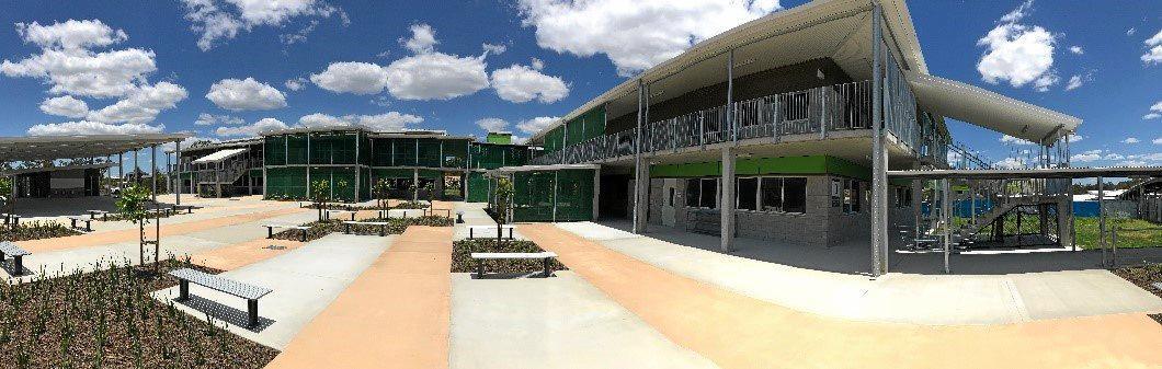 Bellbird Park State Secondary College's new classroom precinct.