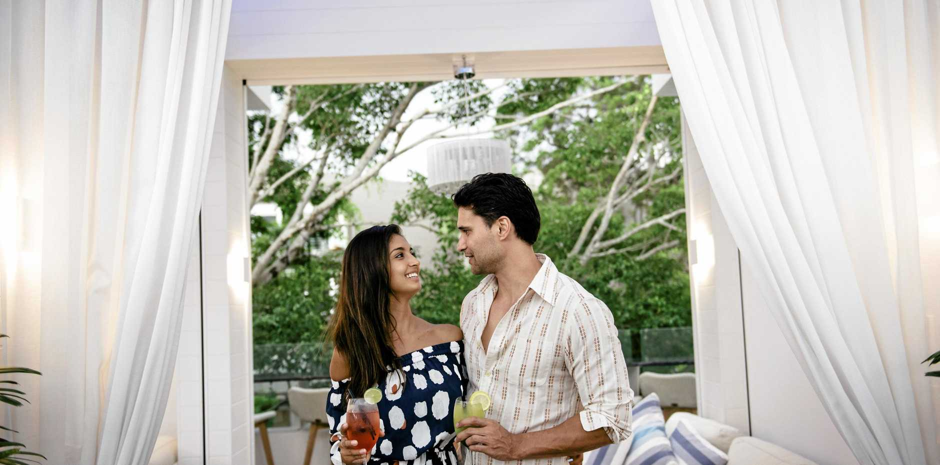 ROMANTIC: Softiel Noosa will hold an exclusive night under the stars this Valentine's Day.
