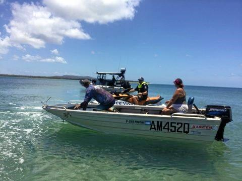 Gladstone Water Police was pleased with the behaviour of boaties on the water during the Australia Day long weekend.