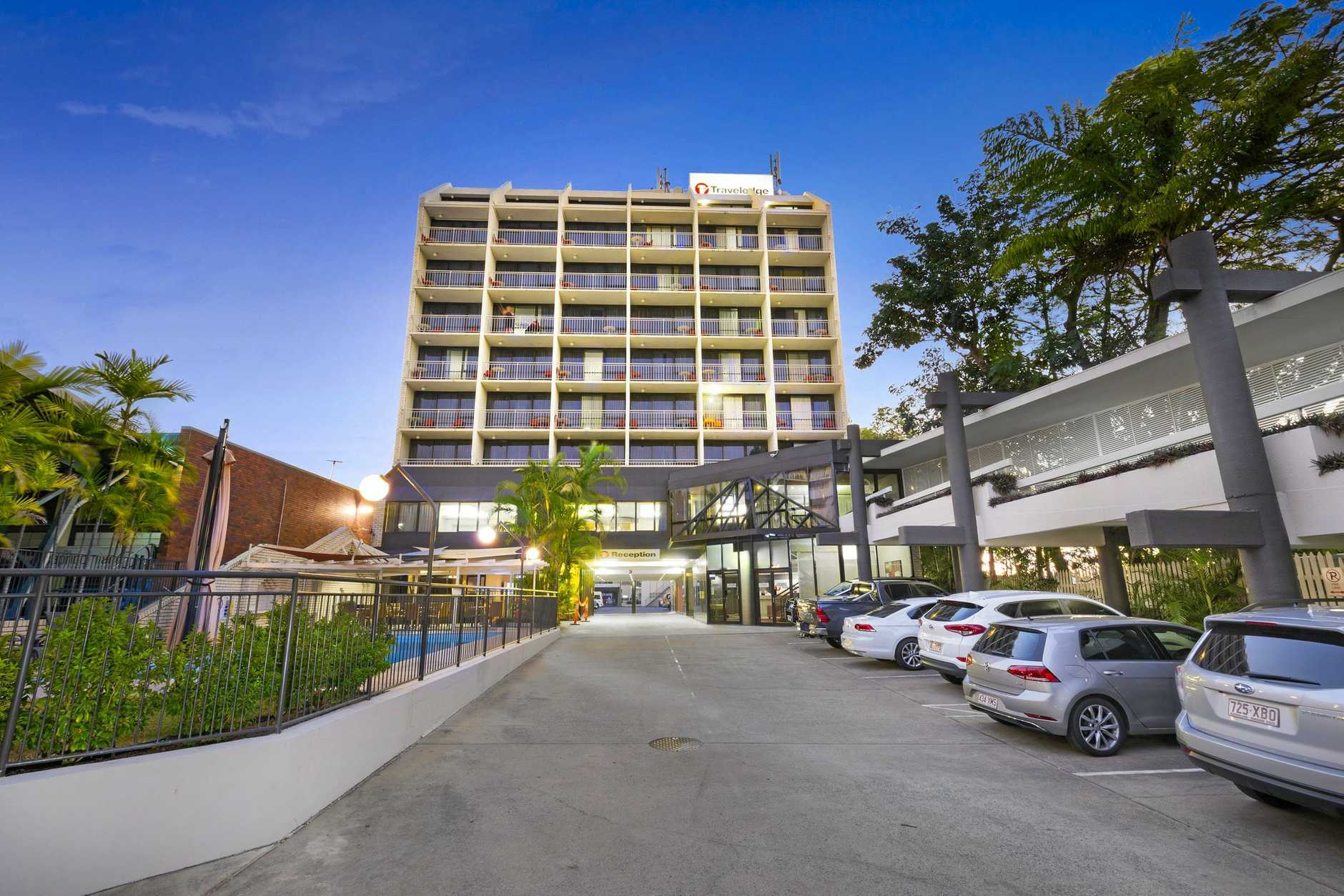 Travelodge Hotel, on Rockhampton's riverfront in Victoria Parade has been sold.