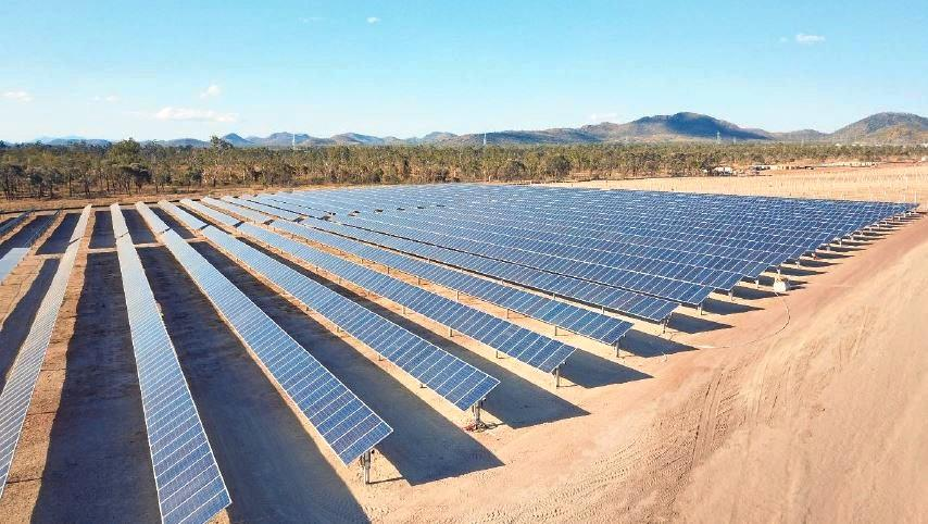 CHARGED UP: Rodds Bay solar farm will be a $400