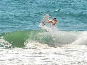 Fun, small surf tipped to stick around
