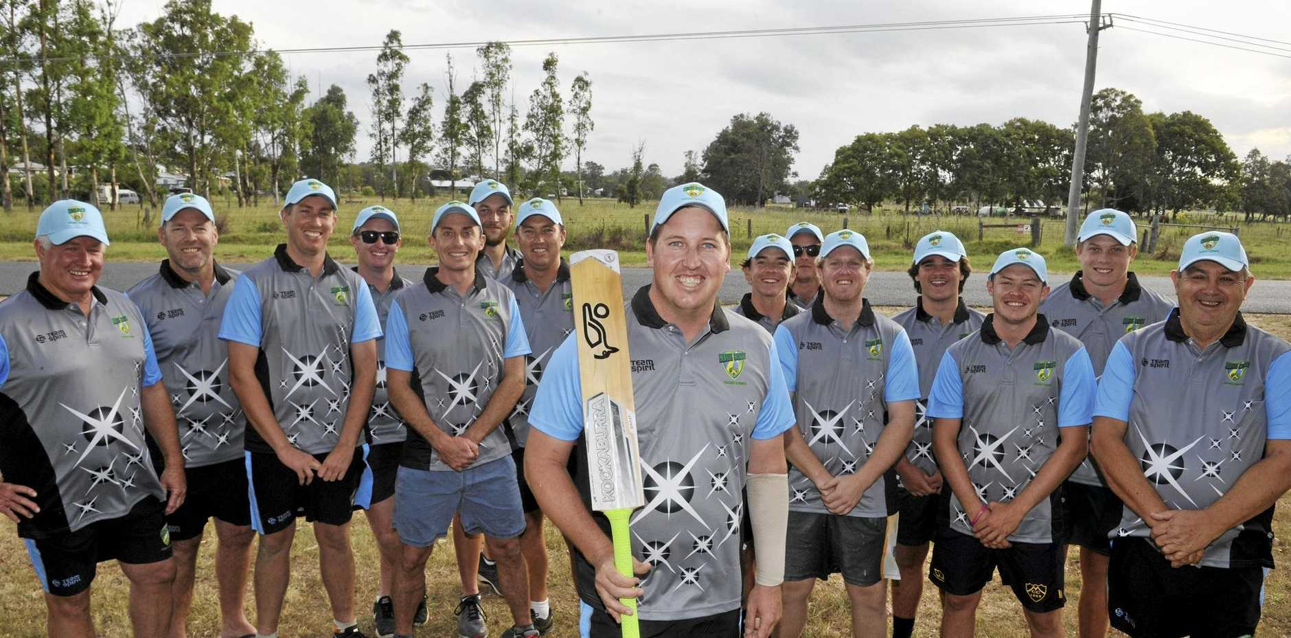 LEADING FROM THE FRONT: Richie Gallichan (centre) will lead the Coffs Coast Chargers into the finals of the Plan B Regional Bash at the Sydney Cricket Ground on February 5.