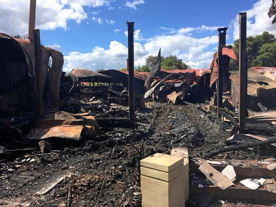 REBUILD: The Spicers Hidden Vale homestead will be rebuilt after fire destroyed it on April 7, 2018.