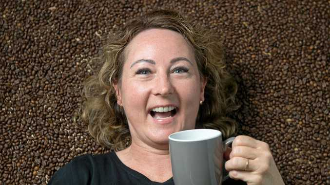 COFFEE CRAZY: Merryn Ward, owner of Woodmans Axe, is travelling to El Salvador to visit the coffee plantations that supply the beans sold at the cafe.