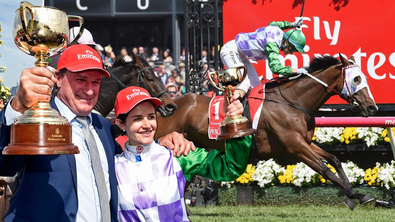 Darren Weir's famous 2015 Melbourne Cup victory is under a cloud as the champion trainer faces the prospect of bans in ­Victoria and New South Wales.