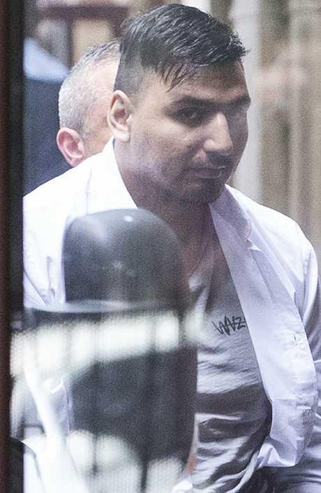 James 'Dimitrious' Gargasoulas arrives at the Supreme Court in Melbourne. Picture: Daniel Pockett