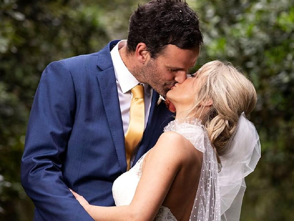 MAFS star Jessika Power with her husband Dino Hira. Picture: Instagram