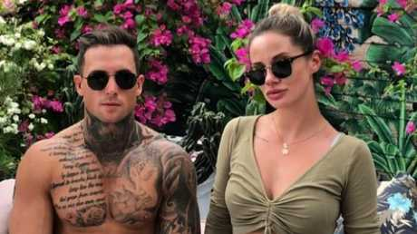 Rhyce pictured with his sister, MAFS star Jessika Power. Picture: Instagram