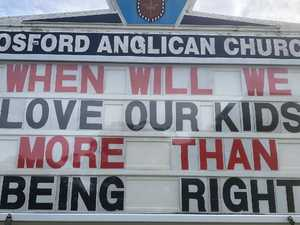 RUSH HOUR: Shock at brutal church sign