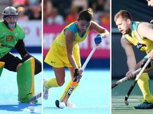 Aussie hockey teams set for world's best