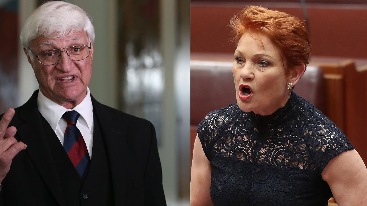Talks are being held to finalise an alliance between the parties of Bob Katter and Pauline Hanson.
