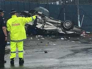 Crash teens sped off 'like devil after them'
