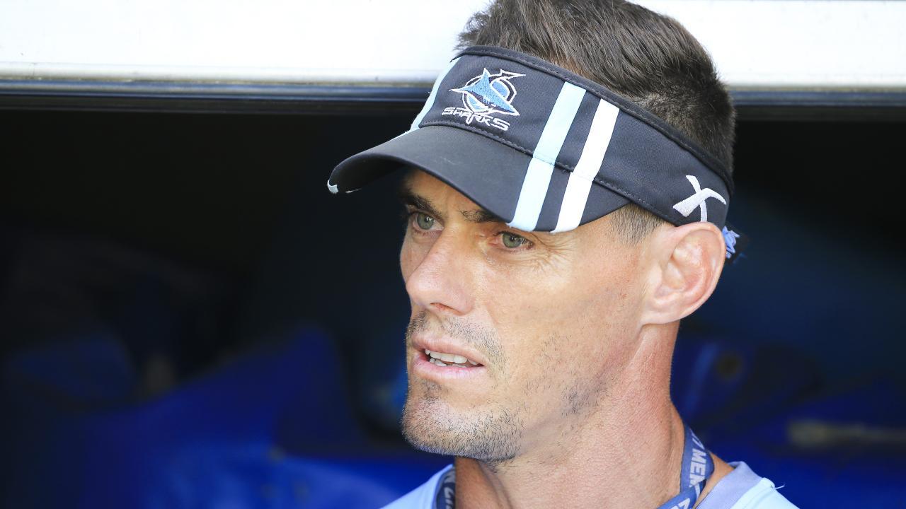 Cronulla Sharks coach John Morris. Picture: Dylan Robinson