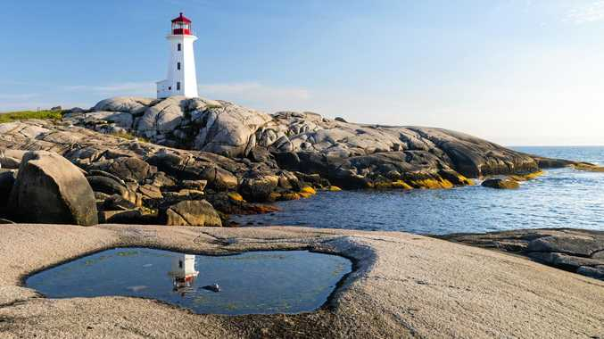 Peggy's Cove Lighthouse, built in 1915 and one of Canada's most-photographed spots, is the main attraction of the area.