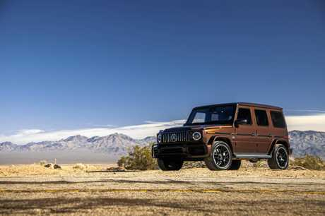 The Mercedes-AMG G63 on a road trip from Las Vegas to Los Angeles.