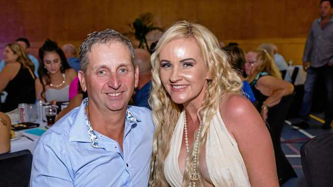 LIQUIDATED: Stirling Investments director Peter Bazzan (left) has cited embezzlement as a reason why the building company collapsed, but Karen Bazzan (right) has refuted many of the reports' claims of debt and amounts owed to Gympie businesses.
