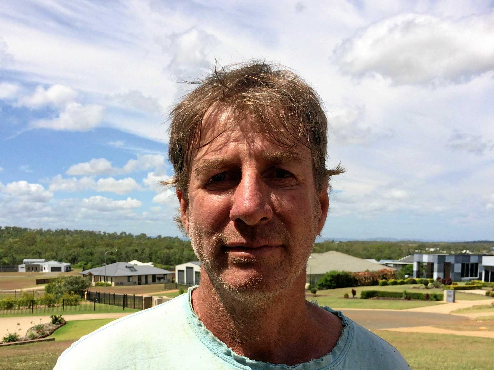 BOUNDARY CHANGE: Rockyview resident John Cummings is supportive of his suburb moving from the Livingstone Shire jurisdiction to the Rockhampton Region.