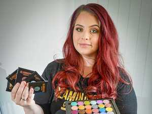 Local business sparkles with hand made ethical make-up